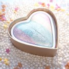 Makuep Revolution Unicorns Heart Rainbow Highlighter Blush Powder