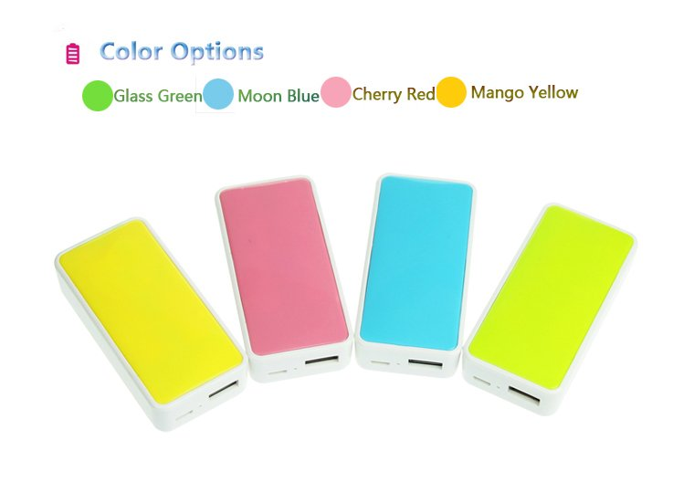 5200mAh Back Up External Battery USB Power Bank Charger for Cell Phone