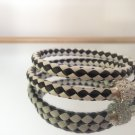 Braided Bracelet With Charm Closure