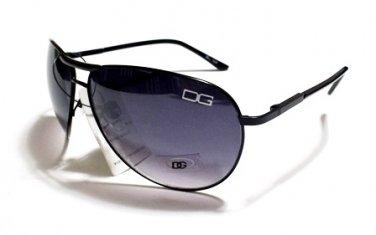 Men Mens Women Womens Black Frame Smoke Lens Sunglasses DG22B
