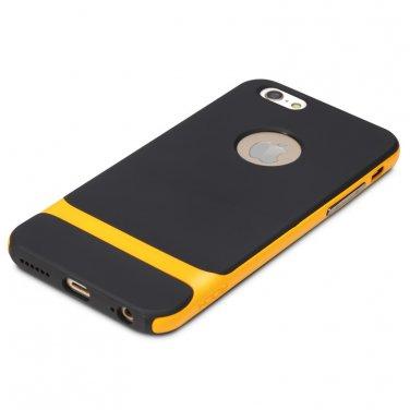 Rocks iPhone 6 TPU / PU Protective back case Orange Color
