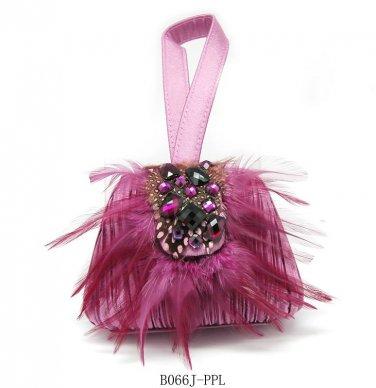 Verga Evening Bag B006j - Purple