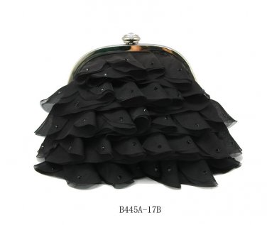 Verga Evening Bag B445A - Black