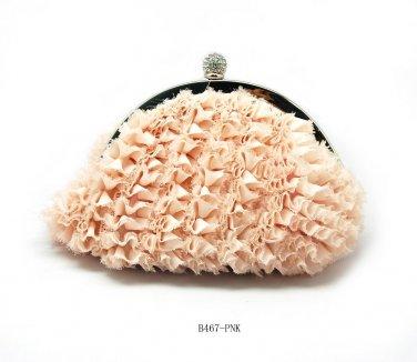 Verga Evening Handbag Bag B467 - Pink