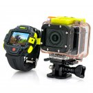 Full HD Action Camera with Wi-Fi and Watch Remote Control - 1920x1080p