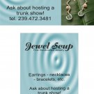 Business cards, earrings cards, bobby pins cards, etc. designs for Vistaprint.com