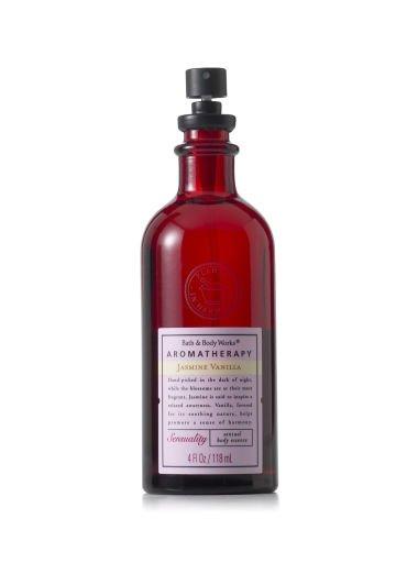 Bath & Body Works Aromatherapy JASMINE VANILLA 4.0 oz/118 ML Sensual Body Essence Spray