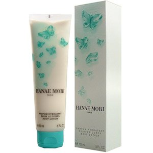 Hanae Mori by Hanae Mori for Women 5.0 oz Body Lotion (Green Butterfly)