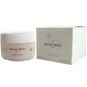 Hanae Mori by Hanae Mori for Women 8.4 oz Body Cream (Green Butterfly)