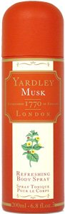 Yardley of London Musk 6.8 oz Refreshing Body Spray