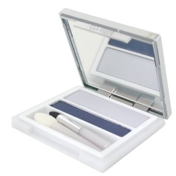 Clinique Eye Defining Duo (Shadow and Liner) Blue Velvet - Full Size Retail Boxed - .13 oz