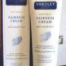 Yardley Natural Fairness Cream 2.5 oz