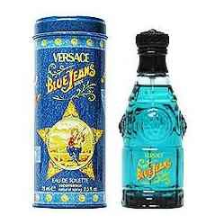 Blue Jeans 2.5 oz Eau de Toilette Spray by Versace for Men
