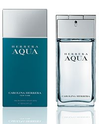 Herrera AQUA by Carolina Herrera for Men 3.4 oz Eau de Toilette Spray