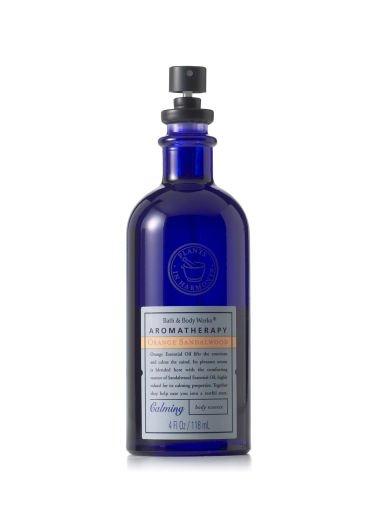 Bath & Body Works Aromatherapy ORANGE SANDALWOOD 4.0 oz/118 ML Calming Body Essence Spray