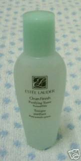 Estee Lauder Clean Finish Purifying Toner 1 oz (Travel Size)