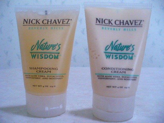 Nick Chavez Nature's WIsdom Shampooing Cream Conditioning Cream Fine, thin, thinning hair