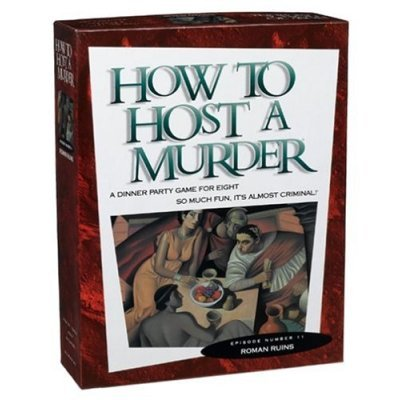 Roman Ruins mystery game - how to host a murder #11