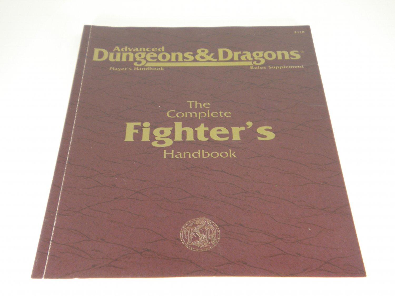Fighter's Handbook  D&D Advanced Dungeons & Dragons 1996  TSR 2110