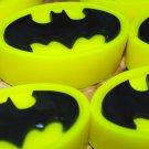 Soap Handmade Batman Logo soaps – Christmas gift, stocking filler