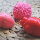 Soap Handmade Brain & Heart Soap – Birthday present, party filler, fun bathtime, novelty