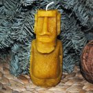 Beeswax Easter Island Candle - handmade, birthday present, party fill