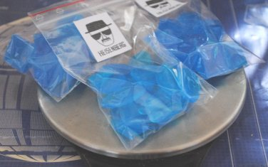 Breaking Bad - Handmade Soap Heisenberg�s blue sky crystal meth � 30g