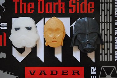 Handmade 3 x Star Wars Soap � Star Wars, C3PO, Storm Trooper, Darth Vader