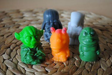 Handmade Star Wars Figure Soaps � Star Wars, birthday present, party filler