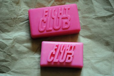 2 x Handmade Fight Club Soaps � Novelty, gift, geeky soap