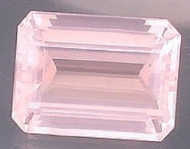 Certified Natural Rose Quartz AAA Quality 10x8 mm Faceted Octagon 2 pcs Pair loose gemstone