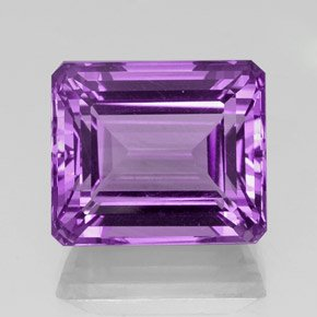 Certified Natural Amethyst AAA Quality 12x16 mm Faceted Octagon 1 pc loose gemstone