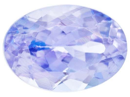 Certified Natural Tanzanite A Quality 8x6 mm Faceted Oval 1 pc loose gemstone