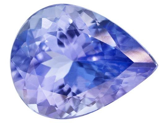 Certified Natural Tanzanite AA Quality 5x4 mm Faceted Pear 5 pcs lot loose gemstone