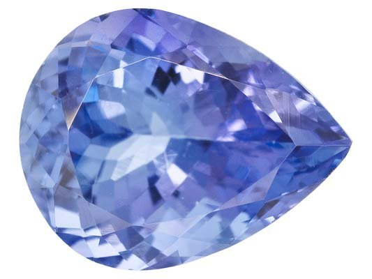 Certified Natural Tanzanite AA Quality 5x4 mm Faceted Pear 10 pcs lot loose gemstone