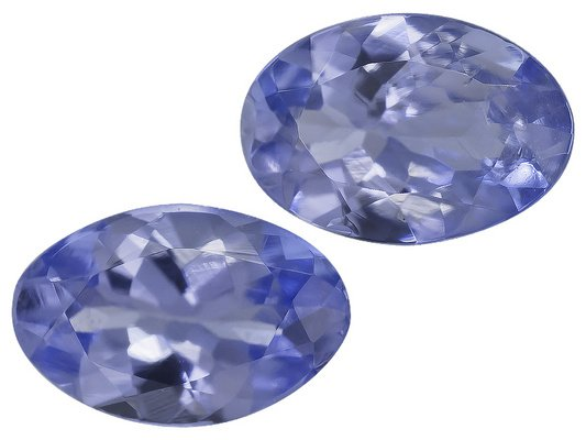 Certified Natural Tanzanite AA Quality 5x3 mm Faceted Oval 5 pcs lot loose gemstone