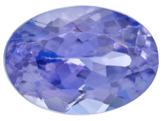 Certified Natural Tanzanite AA Quality 7x5 mm Faceted Oval 1 pc loose gemstone
