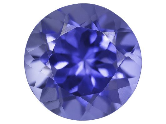 Certified Natural Tanzanite AAA Quality 2 mm Faceted Round 25 pcs lot loose gemstone