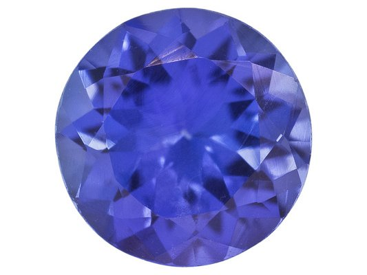 Certified Natural Tanzanite AAA Quality 2.5 mm Faceted Round 10 pcs lot loose gemstone