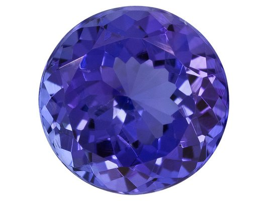 Certified Natural Tanzanite AAA Quality 2.5 mm Faceted Round 25 pcs lot loose gemstone