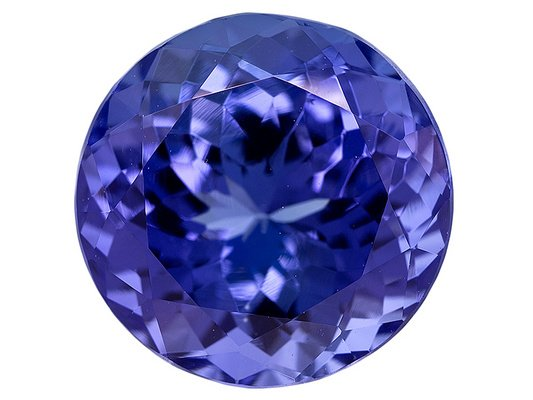 Certified Natural Tanzanite AAA Quality 3 mm Faceted Round 50 pcs lot loose gemstone