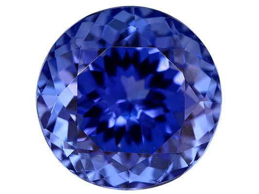 Certified Natural Tanzanite AAA Quality 4.5 mm Faceted Round 20 pcs lot loose gemstone