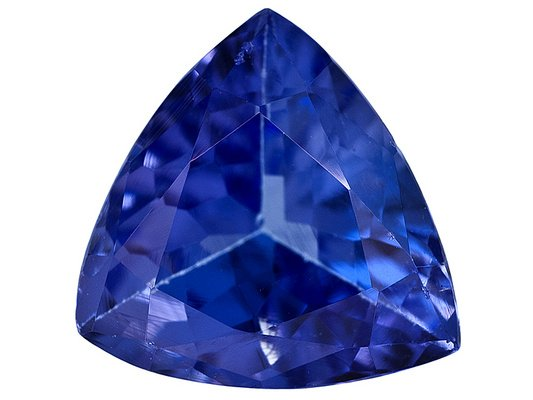 Certified Natural Tanzanite AAA Quality 3.5 mm Faceted Trillion 25 pcs lot loose gemstone