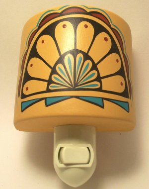 Night Light Southwestern Gold