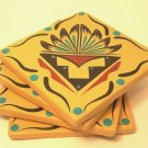 Coasters Southwestern Gold