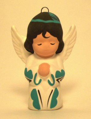 Angel Ornament Southwestern Girl Turquoise