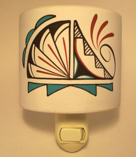 Night Light Southwestern White