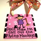Flying Monkeys Handpainted Tile