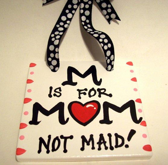 Mom Handpainted Tile
