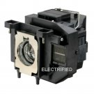 OEM COMPATIBLE ELPLP67 LAMP IN HOUSING FOR EPSON PROJECTOR MODEL EB-W12